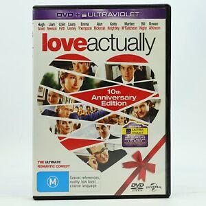 Love Actually 10th Ann Hugh Grant Liam Neeson Emma Thompson Colin Firth DVD GC