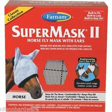 SuperMask Ii Classic Equine Horse Fly Mask With Ears 100504652