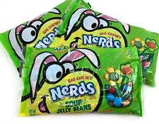 Wonka Nerds Chewy Sour Jelly Beans Candy 12 Ounce Bag - Pack of 3