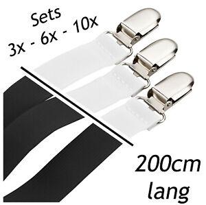 Bettlakenspanner Betttuchspanner Lakenspanner verstellbar 200 cm Spannbettlaken
