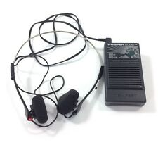Tempest Whisper 2000 WS-2000 Super Hearing Sensitive Sound Modulator Headphones