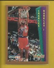 Charles Barkley 1992-93 Fleer Slam Dunk Card # 265 Philadelphia 76ers Basketball