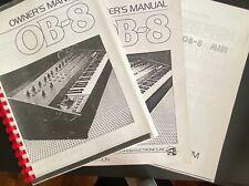 Oberheim OB-8 Manuale utente