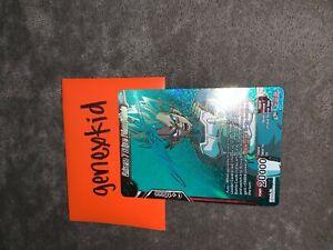 DRAGON BALL SUPER CARD GAME UNIVERSE 7 SAIYAN PRINCE VEGETA TB1-004 SPR SIGNED