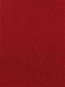 """Crimson Red Suede Velvet Upholstery Fabric 57"""" Wide Soft Woven Back Apparel"""