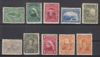 AN5416/ NEWFOUNDLAND – 1880 / 1897 MINT CLASSIC LOT – CV 215 $