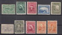 AN5416/ NEWFOUNDLAND – 1880 / 1897 MINT CLASSIC LOT – CV 215 $