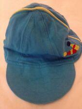 Montefiore - Capellino azzurro con due birilli - 0/3 mesi - circonferenza 40 cm