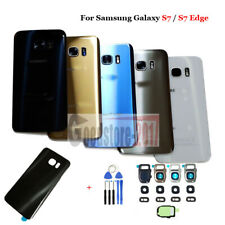 OEM Battery Glass Back Door Cover Replacement For Samsung Galaxy S7 / S7 Edge