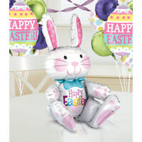Easter Sitting Bunny  Foil Balloon Decoration Party Events Airfill No helium