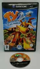 Ty the Tasmanian Tiger 2 Bush Rescue Video Game for Nintendo GameCube PAL TESTED