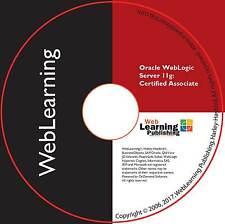 Oracle WebLogic Server 11g: System Administration I Certified OCA - 1Z0-102 CBT