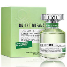 UNITED DREAMS LIVE FREE de BENETTON COLORS - Colonia / Perfume EDT 50 mL - Woman