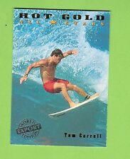 #D208.  1994 AUSTRALIAN SURFING CARD  AS2  TOM CARROLL, WORLD EXPORT EDITION