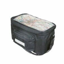 Insulated Bicycle Handlebar Bag Bike Cycle Front Pannier Map Holder 300mmx150mm