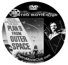 Plan 9 from Outer Space (1959) Horror, Sci-Fi Movie Dvd