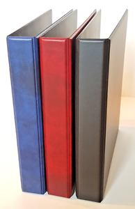 A4 Binder for Hagner, Prinz and Vario pages