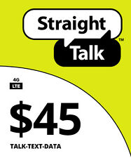 Straight Talk $45 Unlimited 30 Day 8GB Service Card