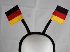 Deutschland Fahnen - Haarreif Deutschland Haarreif scharz-rot-gelb  WM 18