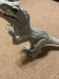 "Jurassic World Indominus Rex 20"" Roar Light Up Electronic Dinosaur Hasbro 2014"