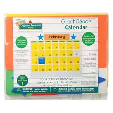 Giant Foam Calendar Kit Kids Classroom Preschool 24x20 inch