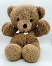 Vintage 1990 Dakin Cuddles Brown Teddy Bear