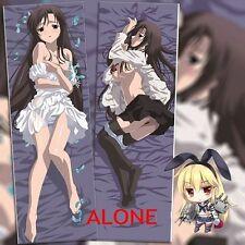 Japan Anime School Days Dakimakura Katsura Kotonoha Hugging Body Pillow Case