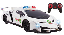 Best Lamborghini Veneno Police RC Car Toy Super Large Remote Control Sports Car