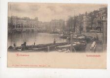 Rotterdam Spaanschekade Netherlands Vintage U/B Postcard 025b