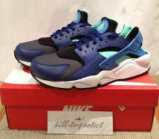 Nike Air Huarache nos UK 7 8 9 10 11 12 Tamaño? Verde Azul Cemento 318429-443