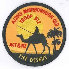 AJ2013 - AUSTRALIA SCOUT NATIONAL JAMBOREE - ACT & NZ TROOP D12 SCOUTS BADGE