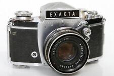 Exakta VX IIa 958695 35mm Camera With Zeiss Pancolor 50mm f2 Lens