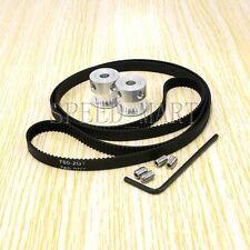 RepRap 2x Gt2 20T 5mm Bore Pulleys & 760-2Gt Timing Belt Prusa Mendel 3D Printe