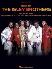 Best of the Isley Brothers Sheet Music Piano Vocal Guitar Songbook NEW 000306762