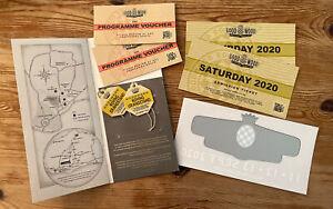 Goodwood Revival 2020 Documents, Tickets, Sticker, Etc UNUSUAL