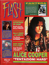 FLASH 65 1994 Alice Cooper Yngwie Malmsteen Pantera Strana Officina Richard Marx