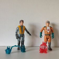 2 THE REAL GHOSTBUSTERS kenner action figure 1987 FRIGHT FEATURES ray peter