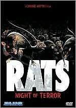 RATS: NIGHT OF TERROR - DVD - Region 1 - Sealed