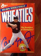 Wheaties Box of Cal Ripkin Jr 2131 Consecutive Games Baltimore Orioles