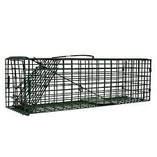 "Single Door Rodent Chipmunk Squirrel Cage Trap 16"" x 5"" x 5"" Humane Live Trap"
