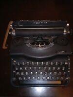 Remington Quiet Model #1 Vintage Typewriter