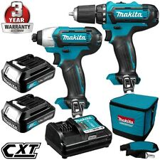 Makita 12v Li-ion Drill Driver and Impact Driver Combo Kit
