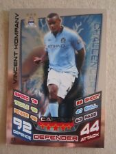Match Attax Extra 2012/13 - Captain  card - Vincent Kompany of Manchester City