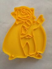 Yellow Muppets 1973 Count Cookie Cutter Art Mold