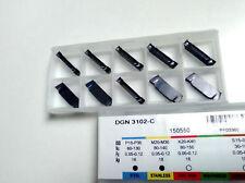 10 x Stechplatten DGN 3102-C P25/M20-TIALN !! NEU!! Mit Rechnung!!