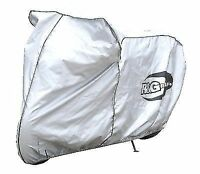 R&G Outdoor Waterproof Motorcycle Cover for Supersport/Superbikes in Silver