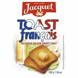 Jacquet Toast Francais 200g (Pack of 6)