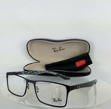 Brand New Authentic Ray Ban RB 8415 Eyeglasses RB8415 2848 Black Carbon Fibre