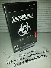 CONSPIRACY weapons of mass destruction  original  GIOCO PC ITA nuovo sigillato