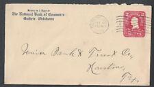 1908 Guthrie Ok National Bank Of Commerce